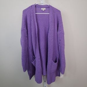 Style & Co Sweaters - STYLE & CO Chenille Open-Front Cardigan